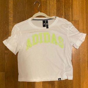 athletic cropped tee
